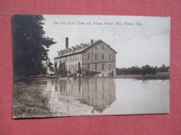 Old Factory Pond  Urbana Woolen Mills  Urbana Ohio     Ref   3657 - Vereinigte Staaten