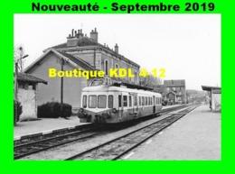 AL 597 - Autorail Picasso X 3800 - Gare De CORBIGNY - Nièvre - CFTA - Stations With Trains