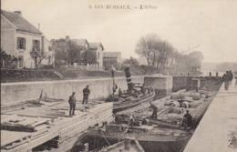 Les Mureaux : Le Canal , L'écluse Péniche Beau Plan   ///  REF  OCT. 19  /// N° 9733 - Les Mureaux