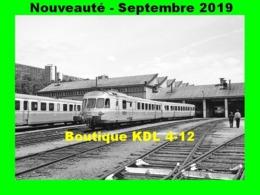 AL 599 - Autorail RGP 1 Au Dépôt - LYON-VAISE - Rhône - SNCF - Eisenbahnen