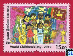Sri Lanka Stamps 2019, World Children's Day, MNH - Sri Lanka (Ceylon) (1948-...)