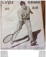 1908 CANNES - WILLDING VAINQUEUR DES TOURNOIS DE TENNIS - LA VIE AU GRAND AIR - Livres, BD, Revues