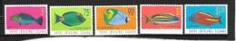 COCOS-ISLANDS Mi.nr.357-361 Poissons Fische 1997 NEUF - Cocos (Keeling) Islands