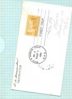 Enveloppe Timbrée CALIFORNIE  1950   3 D Centenaire 1850  YOKUM - Zentralamerika
