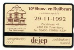 TK 13440 NETHERLANDS - L&G Culemborg - 10e Show- En Rulbeurs - Privé