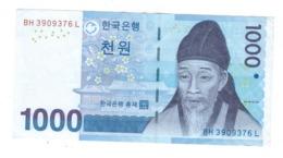 South Korea,  1000 Won, XF. - Korea, South