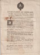 1737 Louis Basile De Bernage, Intendant Du Languedoc, Permission Replanter Vignes St Marcel D'Ardèche - Historische Dokumente