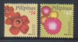 Filippine Philippines Philippinen Pilipinas 2019 Rafflesia & Everlasting Flowers -  MNH** (see Photo) - Filippine