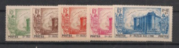 Inde - 1939 - N°Yv. 118 à 122 - Révolution - Série Complète - Neuf Luxe ** / MNH / Postfrisch - Indien (1892-1954)