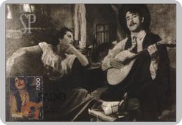 Portugal 2011 Guitarra Portuguesa Portugiesische Gitarre Fado Postal Maximo Guitar Maximum Maxicard UNESCO Cinema Music - Musik