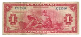 Curacao, 1 Dollar 1942. USED. - Other - America