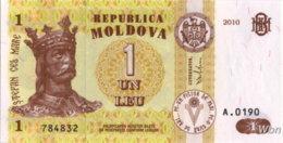 Moldavie 1 Leu (P8) 2010 -UNC- - Moldavië