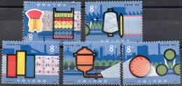 CHINA - 1978 - Chemical Fabrics - 5 Stamps - MNH - Neufs