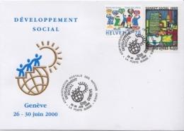 Switzerland / UNO Special Cover, Social Development - History