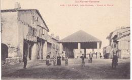 LE PLAN PRES CAZERES  -  PLACE ET HALLE - Francia