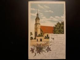 AK Elsterwerda Bahnpoststempel Wittenberge-kohlfurt    - Litho 1900 - Selten !!! - Elsterwerda