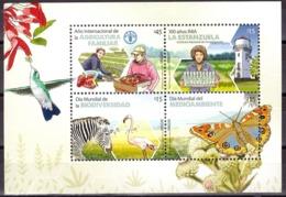 Uruguay 2014 Fauna, Insects, Butterflies, Birds, Flowers, Flora, Lighthouse - Uruguay