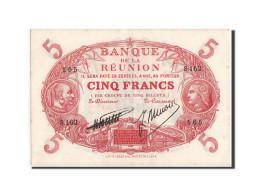 Billet, Réunion, 5 Francs, 1938, KM:14, SUP - Reunion