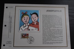 2264 'Suske En Wiske - Bob Et Bobette' - CEF Luxe Kunstblad - Oplage: 525 Ex. - Cartes Souvenir
