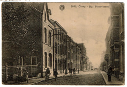 Ciney - Rue Pierrevennes - Edit. G. Hermans N° 2696 - Circulée 1925 - 2 Scans - Ciney