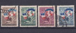 Yugoslavia Republic 1946 Mi#501-504 Used - 1945-1992 Socialistische Federale Republiek Joegoslavië