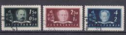 Yugoslavia Republic 1948 Mi#545-547 Used - 1945-1992 Socialistische Federale Republiek Joegoslavië
