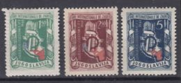 Yugoslavia Republic 1948 Mi#539-541 Mint Hinged - 1945-1992 Socialistische Federale Republiek Joegoslavië