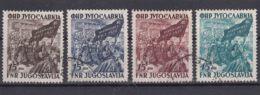Yugoslavia Republic 1952 Mi#708-711 Used - 1945-1992 Socialistische Federale Republiek Joegoslavië