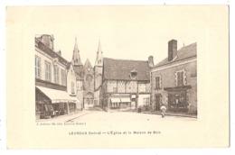 36 - LEVROUX (Indre) - L'Eglise Et La Maison De Bois - France