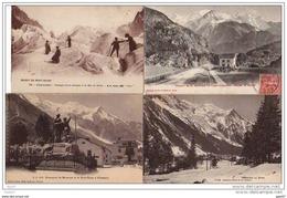 8  Cpa  (  Dep  74  )  CHAMONIX   à   L' époque - Chamonix-Mont-Blanc