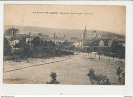 57 MOYEUVRE GRANDE PLACE DE LA REPUBLIQUE ET PANORAMA CPA BON ETAT - France