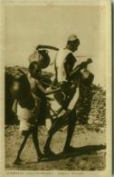 AFRICA - ERITREA -  Abyssinians SHEPHERD / PASTORE ABISSINO - 1930s (BG4318) - Eritrea