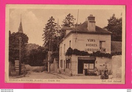 CPA  (Ref: Z 1307) SAINT NOM LA BRETÈCHE (78 YVELINES) Grande Rue Avec Café Vieux Poste à Essence épicerie - St. Nom La Breteche