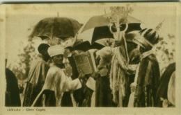 AFRICA - ERITREA - ASMARA  CLERGY COPTIC / CLERO COPTO - 1930s (BG4321) - Eritrea