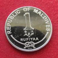 Maldive Islands Maldives 1 Rufiyaa 2007 KM# 73b  Maldivas - Maldivas