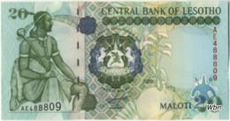Lesotho 20 Malotis (P16) 2009 -UNC- - Lesoto