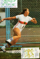 GERMANY:#MAXIMUM FDC CARD#ATHLETICS#OLYMPIC GAME  #1984# #(MAX-C-280-1 (14) - Sommer 1984: Los Angeles