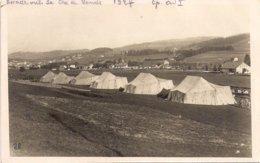 Aviation - La Chaux-de-Fonds - Compagnie D'aviation Militaire Suisse 1 - 1927 - Rare - Aeródromos