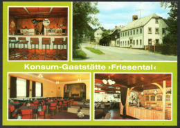 C8569 - TOP Friesen Konsum Gaststätte Friesental Bar Saal Gaststätte - Bild Und Heimat Reichenbach - Reichenbach I. Vogtl.
