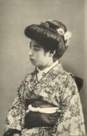 Japan, Beautiful Geisha Lady In Kimono (1910s) Naniwaya Co, Kanda Postcard - Japan