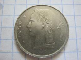 1 Franc 1950 (NLD) - 1951-1993: Baudouin I