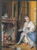 Ansichtskarten     MAGNET - François Boucher - Die Toilette - Advertising