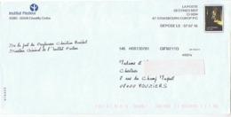 Institut Pasteur -  Simili-timbre : Louis Pasteur - Enteros Postales