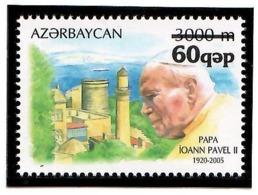 "Azerbaijan 2007. Ovpt ""60 Qep"" On Pope John II.  Michel # 685 - Aserbaidschan"