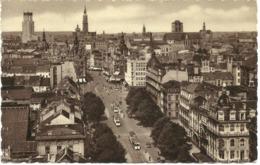 ANVERS - ANTWERPEN - PANORAMA - TRAMS/TROLLEY BUSES - GOOD POSTMARK  WITH CHARGE MARKS - Antwerpen