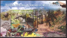 Turkey 2015 National Park. Birds, Butterflies, Lizards, Reptiles, Insects, Flora, Fauna - 1921-... Republic