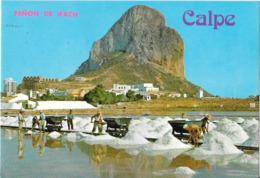 CALPE (Alicante) - Penon De Ifach Desde Las Salinas - Salins - Alicante