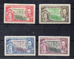 Gran Bretagna - (Vecchie Colonie E Protettorati RHODESIA DEL SUD - 1947 - 4 Valori - Nuovi - * - (FDC17333) - Southern Rhodesia (...-1964)