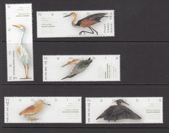 2016 Namibia Birds Oiseaux  Complete Set Of 5 MNH - Namibia (1990- ...)