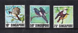 SINGAPORE - 1978 - Uccelli  - 3 Valori - Usati - (FDC17334) - Singapore (1959-...)
